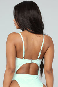 Royally Tied Swimsuit - Mint