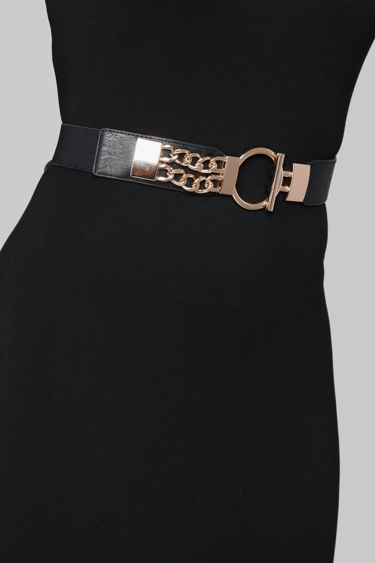 O Ring Not Boring Belt - Black