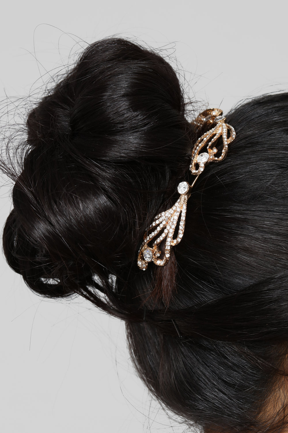Hot Buns Hair Pin - Gold