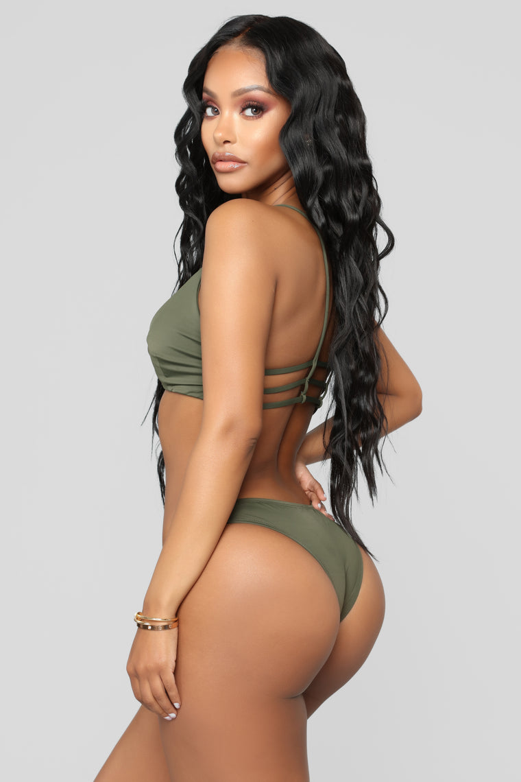 Ride The Wave Bikini - Olive