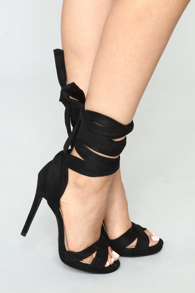 So To Tie For Heels - Black