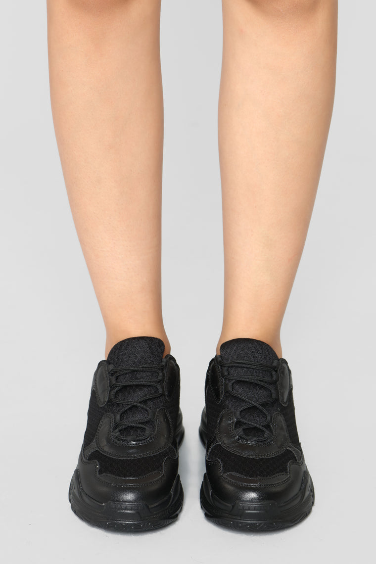 Too Cool For This Sneaker - Black