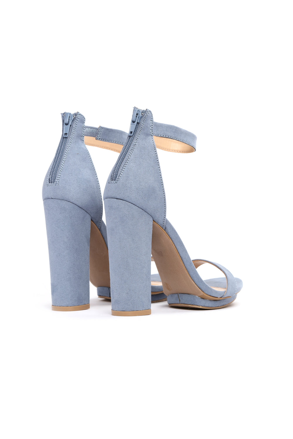 Simply Chic Heel - Dusty Blue