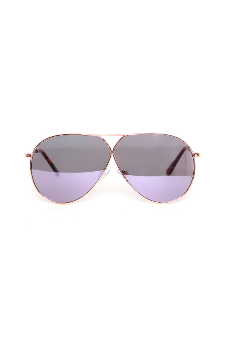 Riptide Sunglasses - Purple/combo