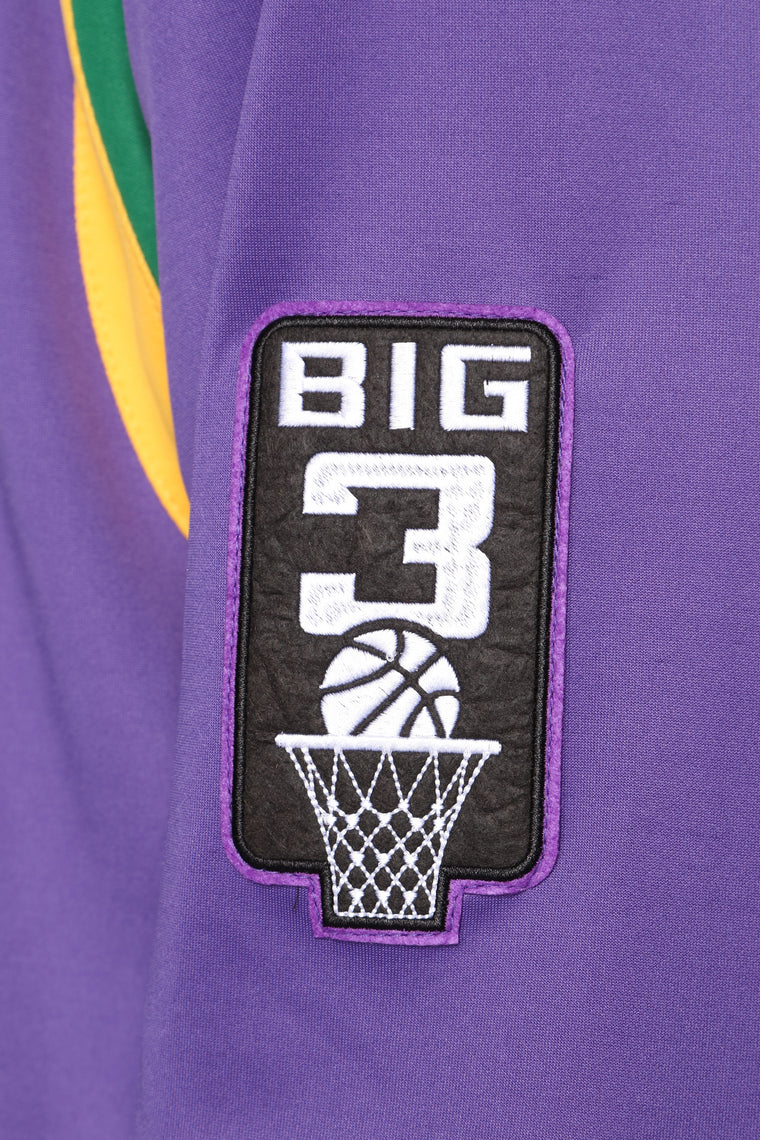 Team 3 Headed Monsters Jacket - Purple/combo