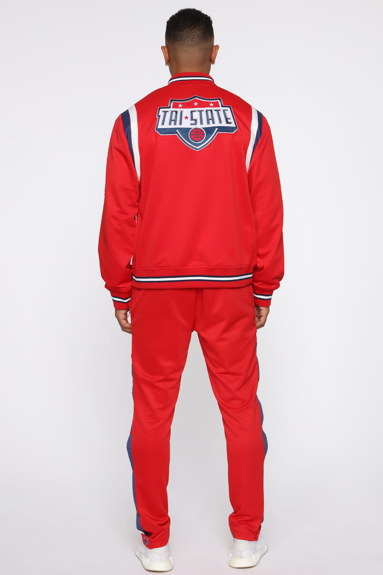 Team Tri State Jacket - Red/combo