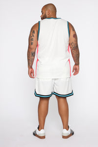 Butler Remix Tank Top - White/combo