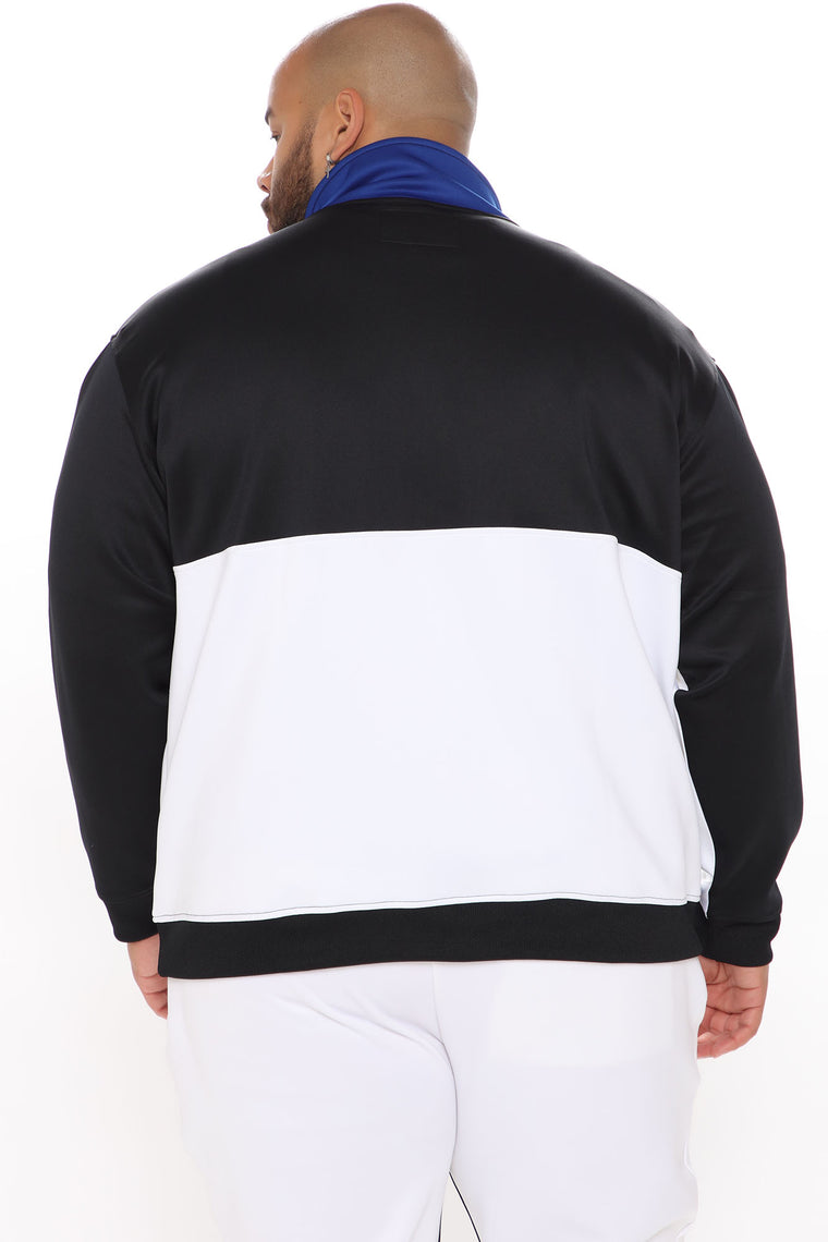 Vertigo Zip Up Jacket - White/combo