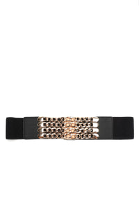 Wrapped In Chains Belt - Black