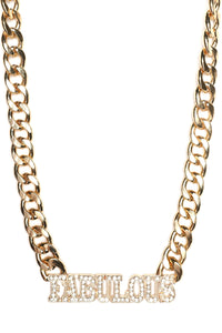 So Fabulous Necklace - Gold