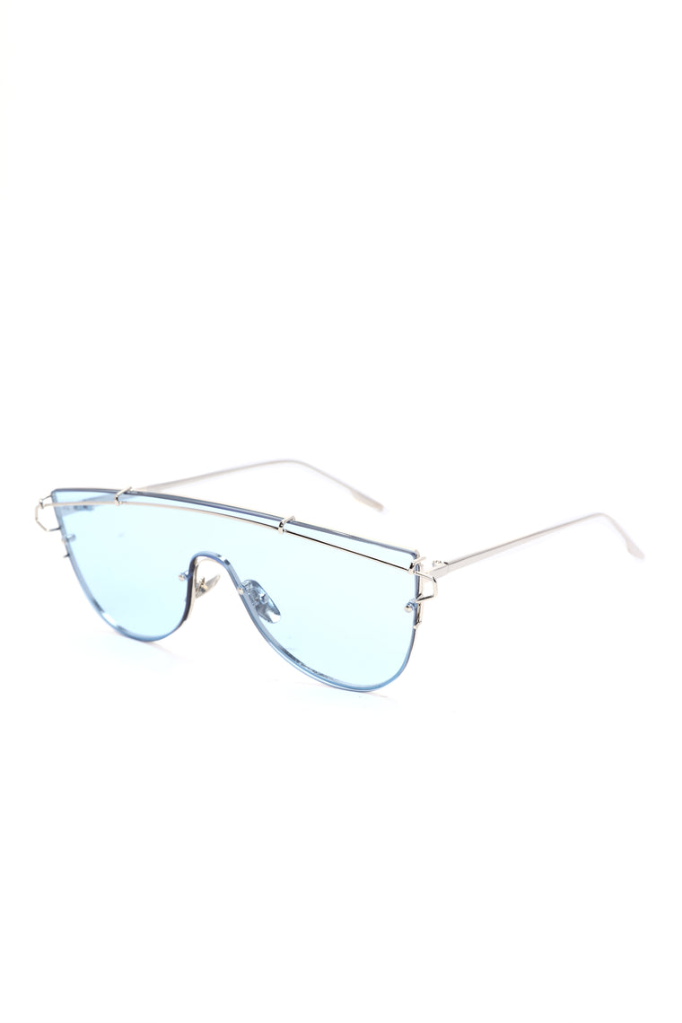 My Protection Shield Sunglasses - Blue