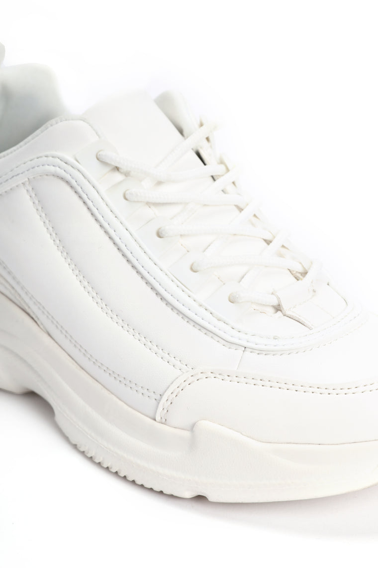 Born In The 90 s Sneakers - White 977c8aaa82be