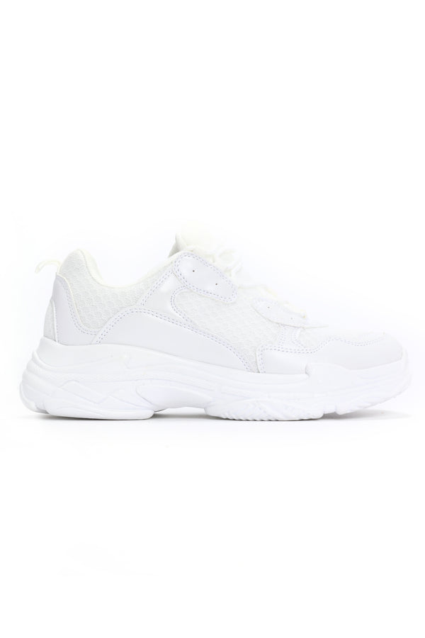 2ffd285ba015a1 Too Cool For This Sneaker - White