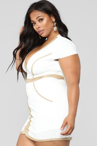 Bare Truth Dress - White