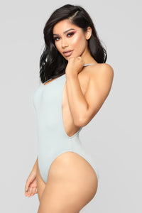 Standout Swimsuit - Light Grey