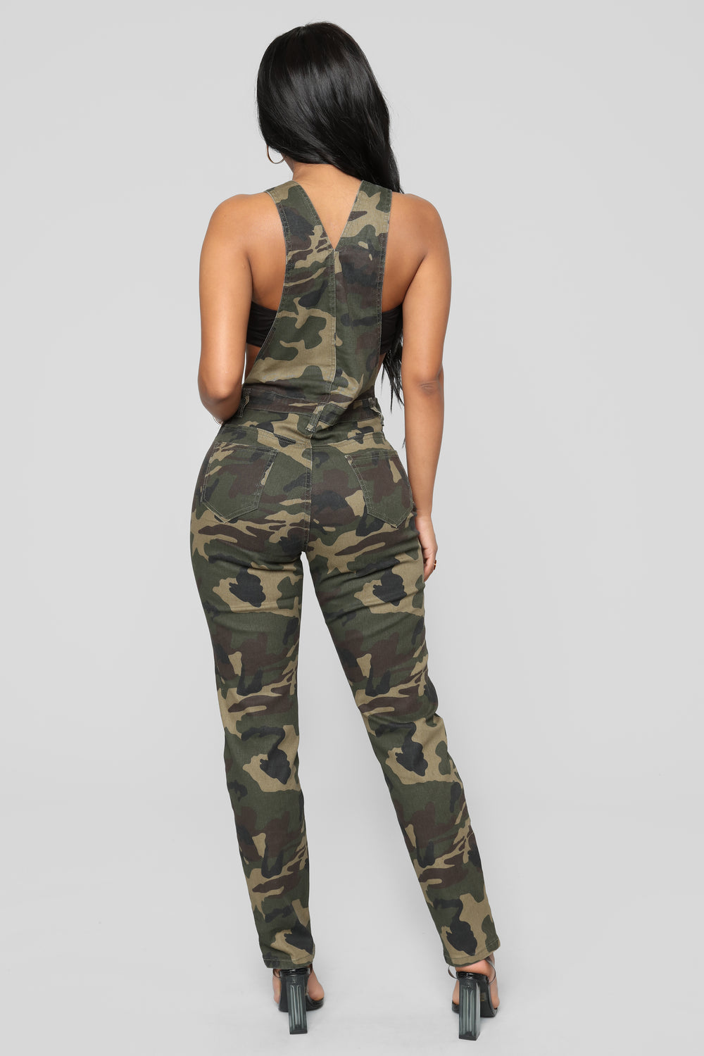 Commander Of The Squad Cargo Overall - Olive