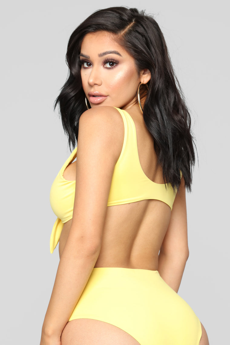 For Eternity Bikini - Yellow