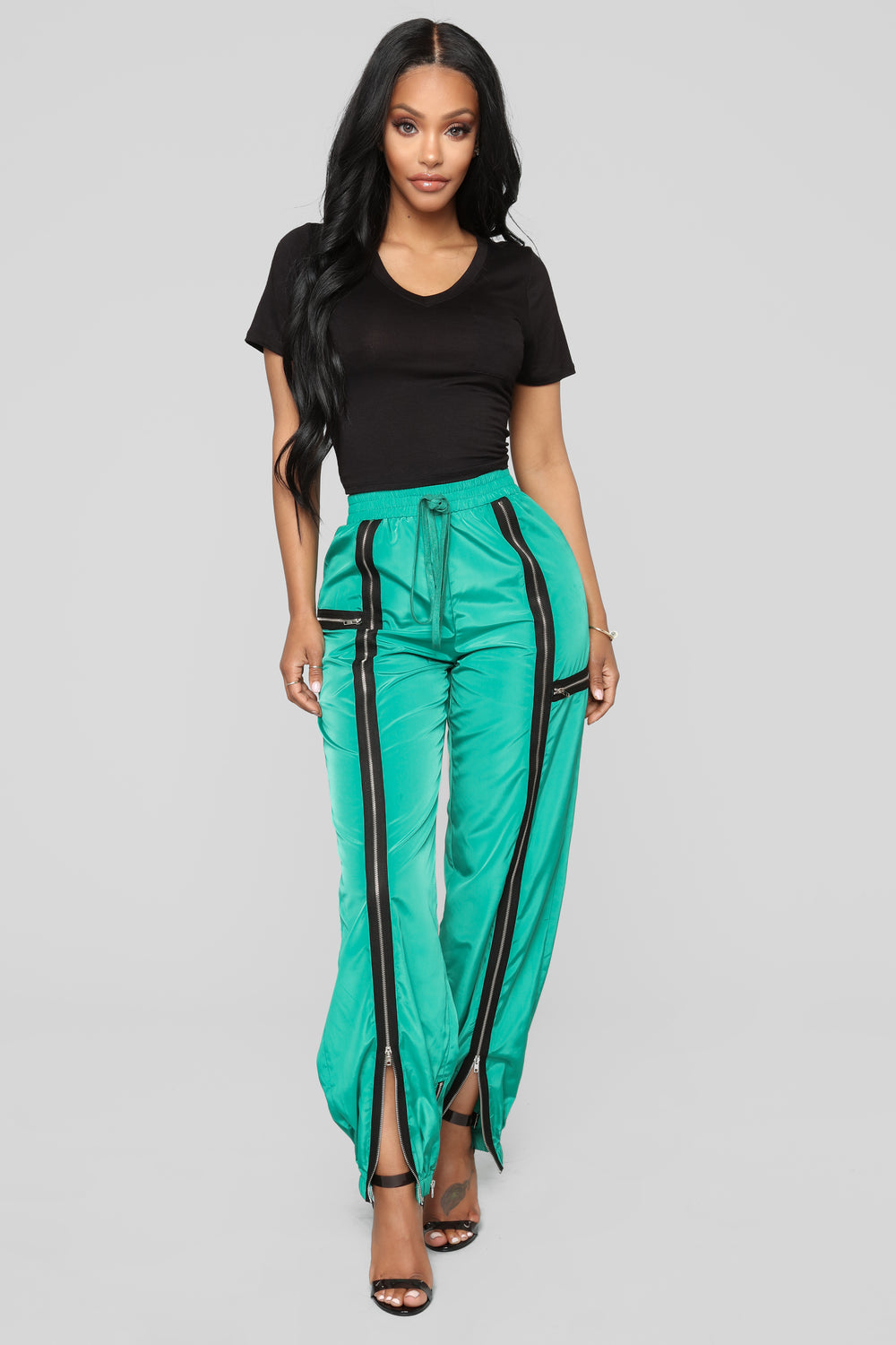 Rich Like Kimye Joggers - Green