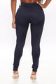 Keep It Forever High Rise Pant - Navy
