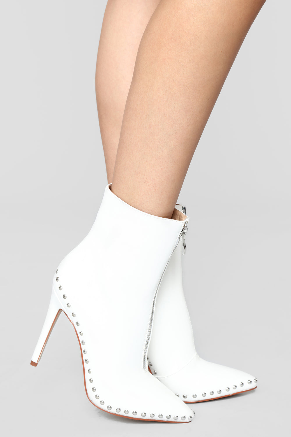 Thoraya Bootie - White