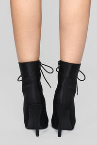 Shine Bright Booties - Black Angle 6