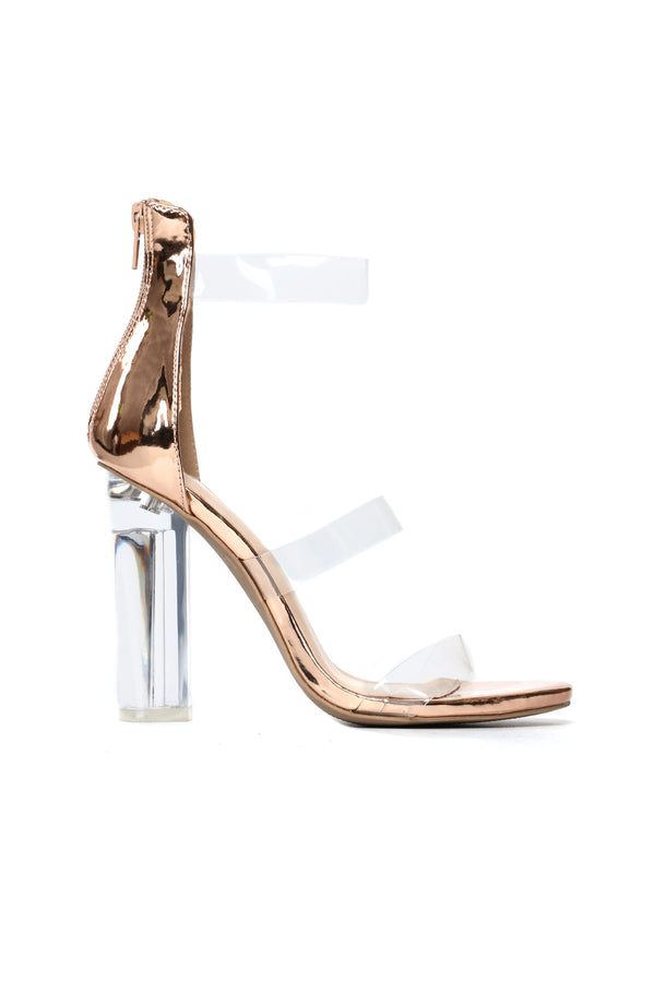 581aabd61bd Rosy Clear Heel - Rose Gold