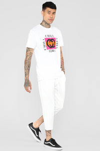 Chill Vibes Tee - White