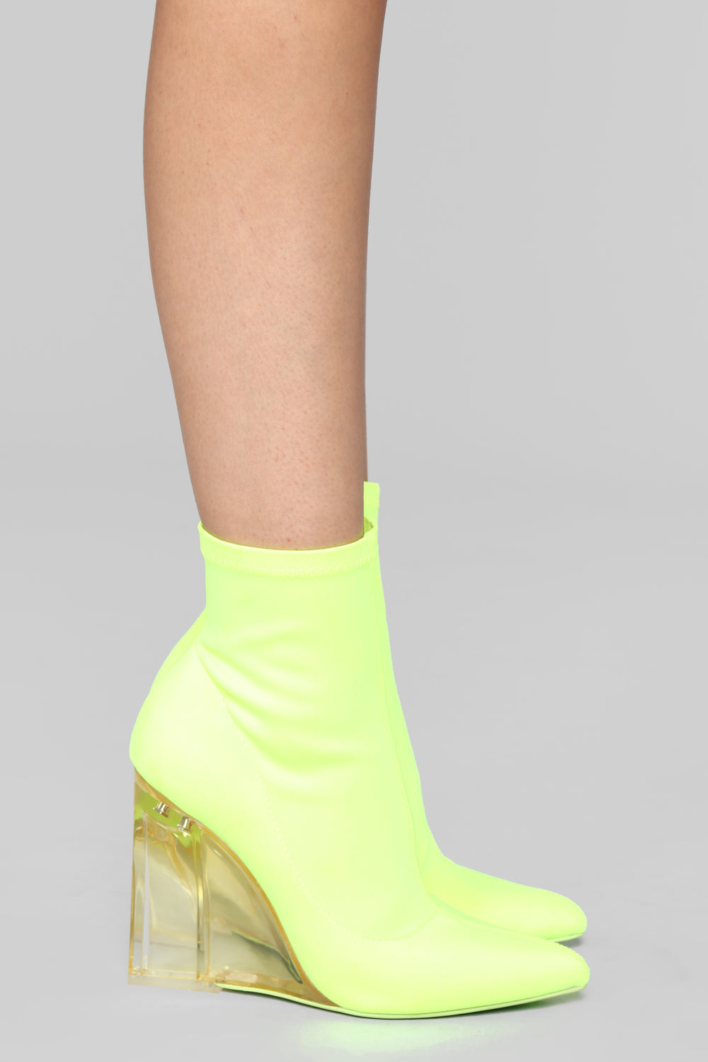 Out Of Line Bootie - Yellow