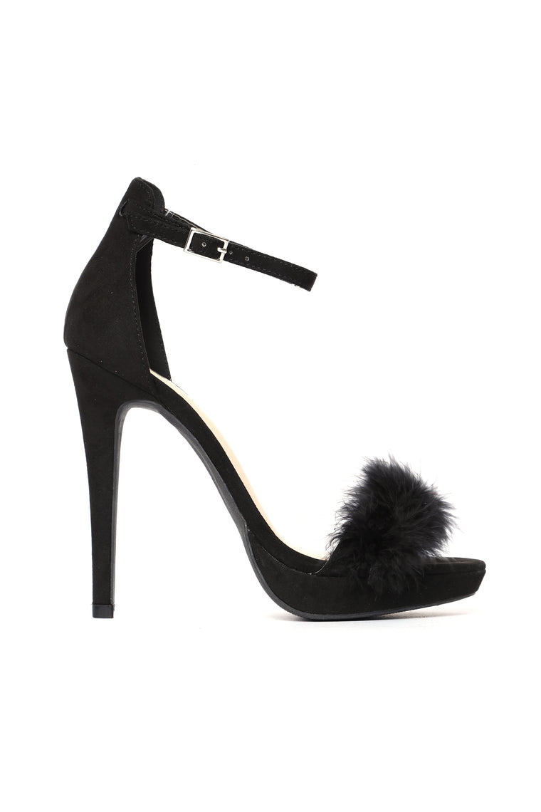 My Own Rules Heel - Black
