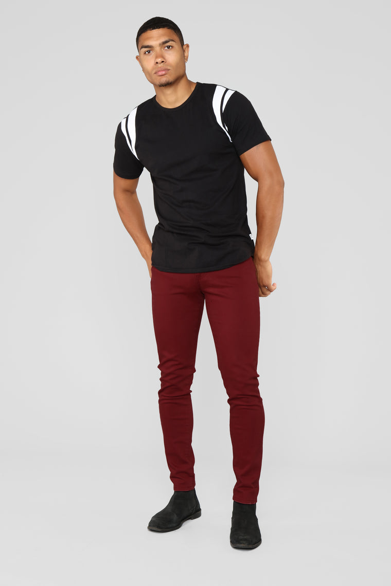 Mac Chino Pants - Burgundy