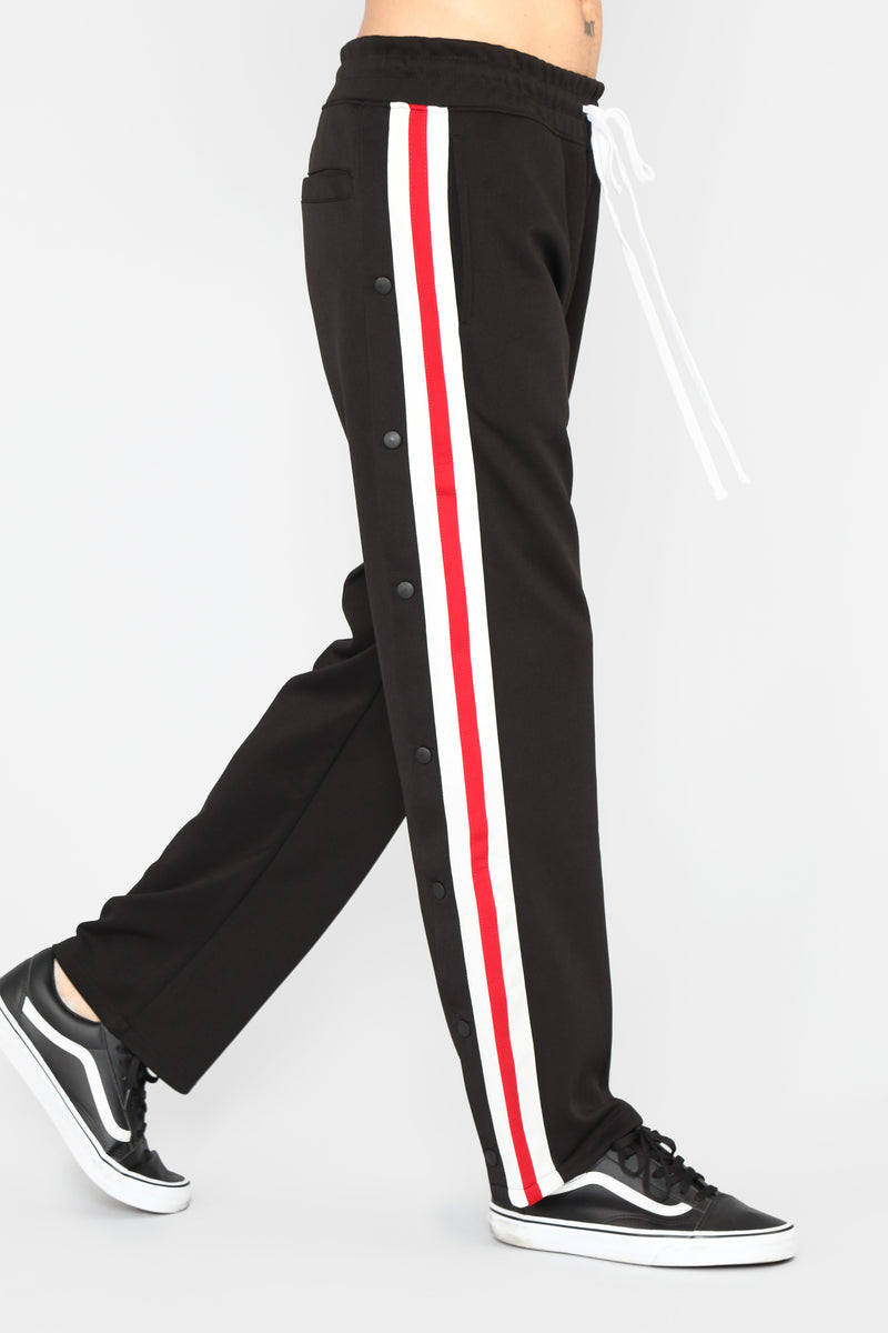 JC Tearaway Pants - Black/Combo