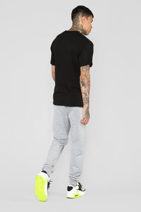 Doin The Zamn Thing Short Sleeve Tee - Black