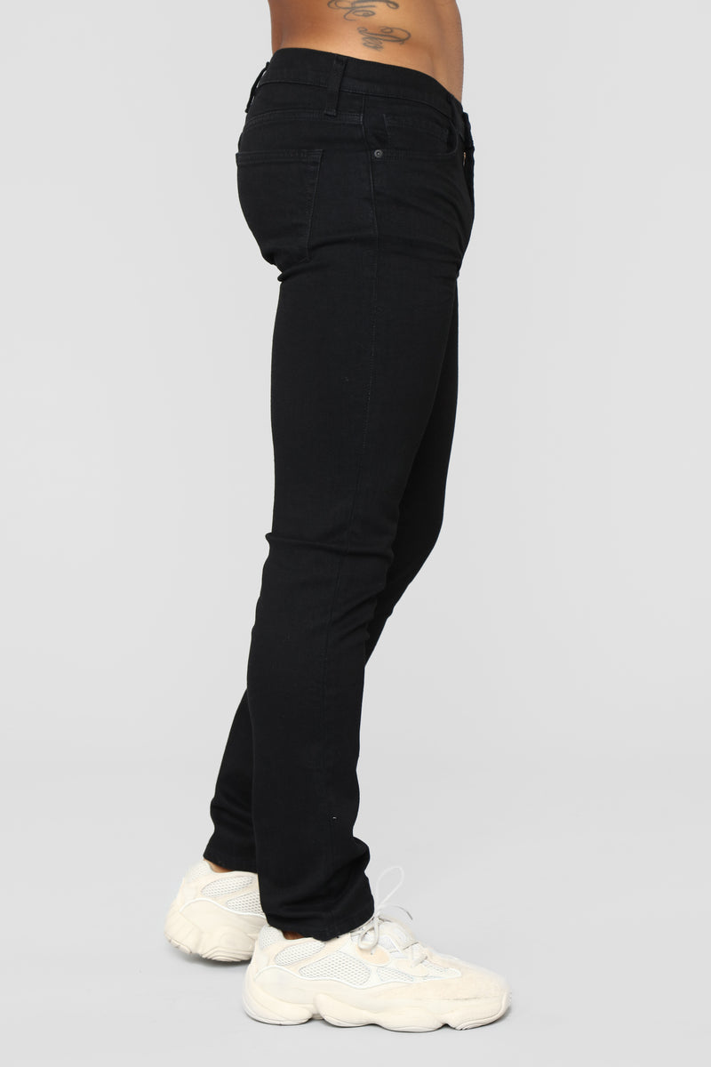 Edward Slim Jeans - Black