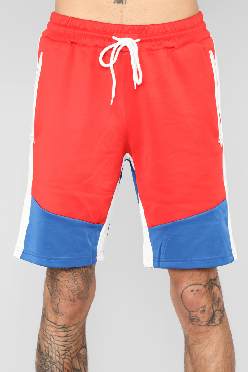 Lance Short - Red/Combo