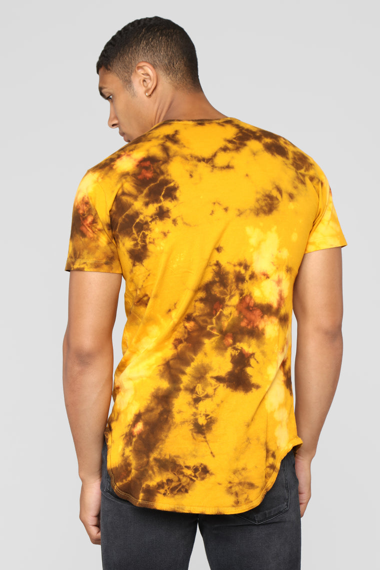 Eye Of The Sun Short Sleeve Tee - Yellow