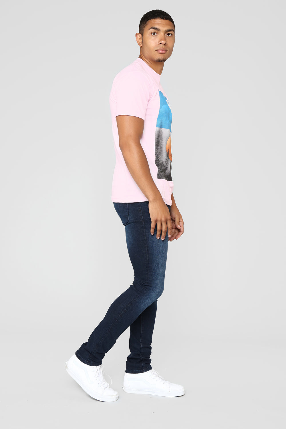 Pink Good Vibes Tee - Pink