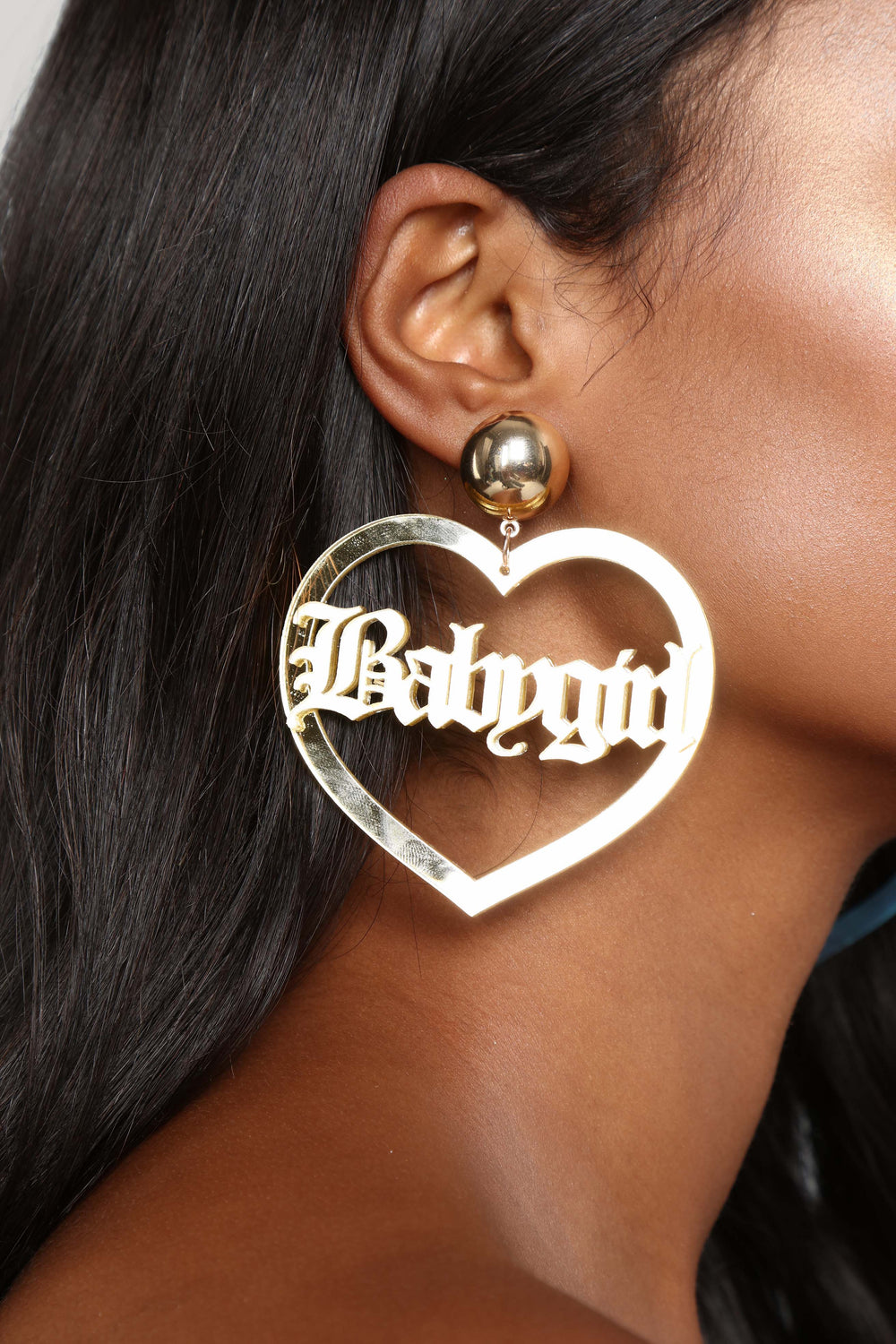 All For You Babygirl Earrings - Gold