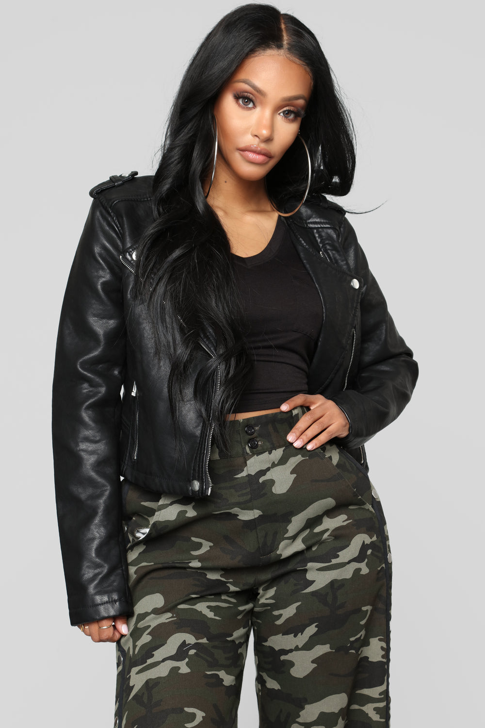 Do What You Want Moto Jacket - Black