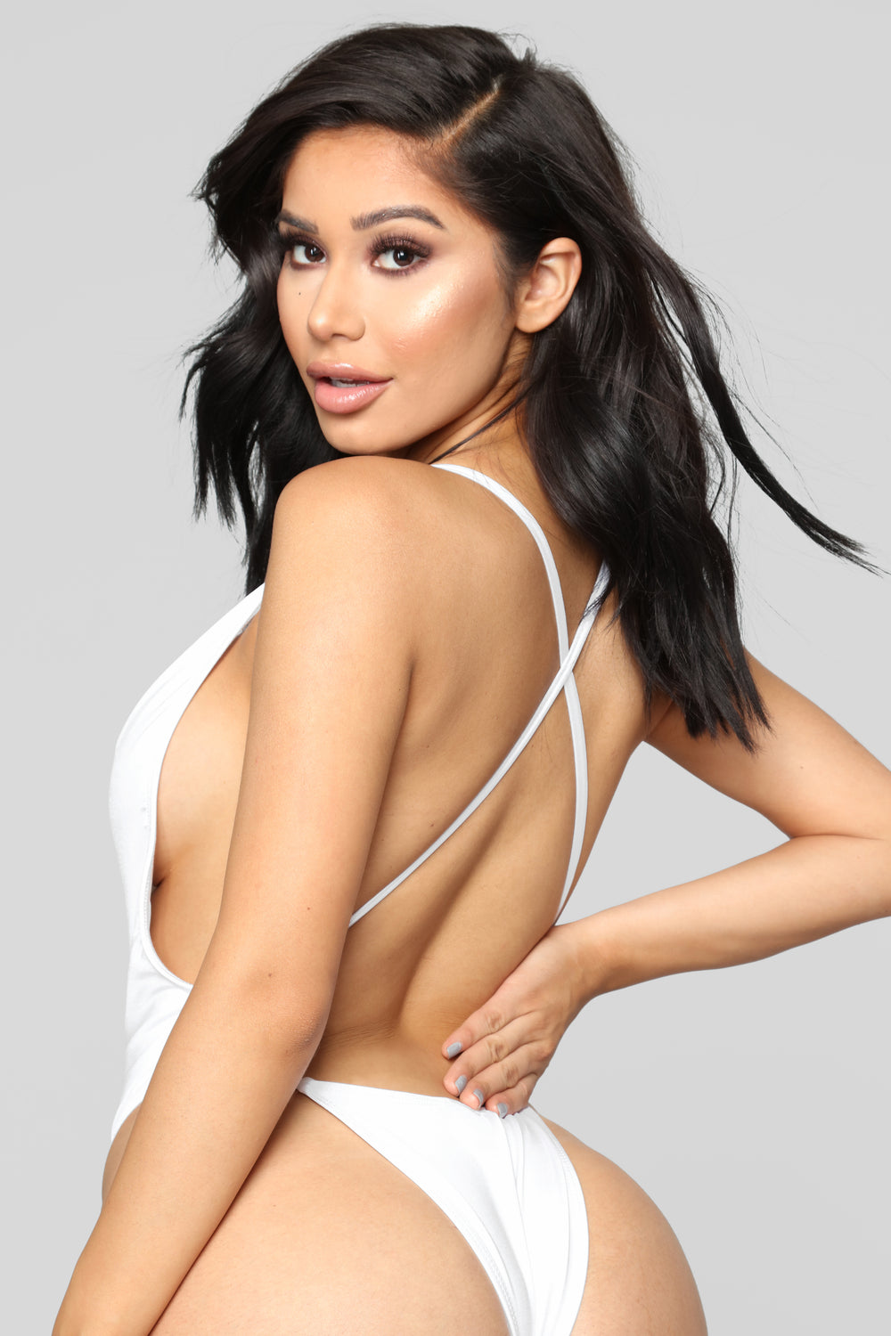 Good Influence Swimsuit - White