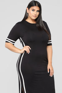Pretty F'N Fly Dress - Black