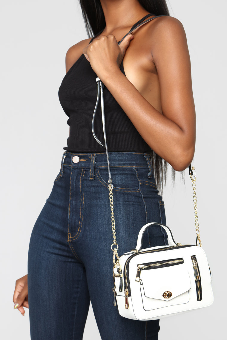 Can You Box Crossbody Bag - White