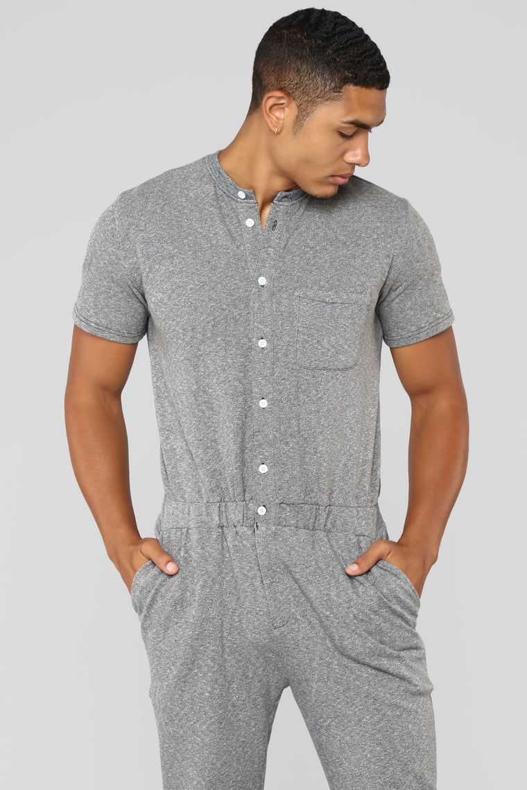 Springs Party Suit - Grey