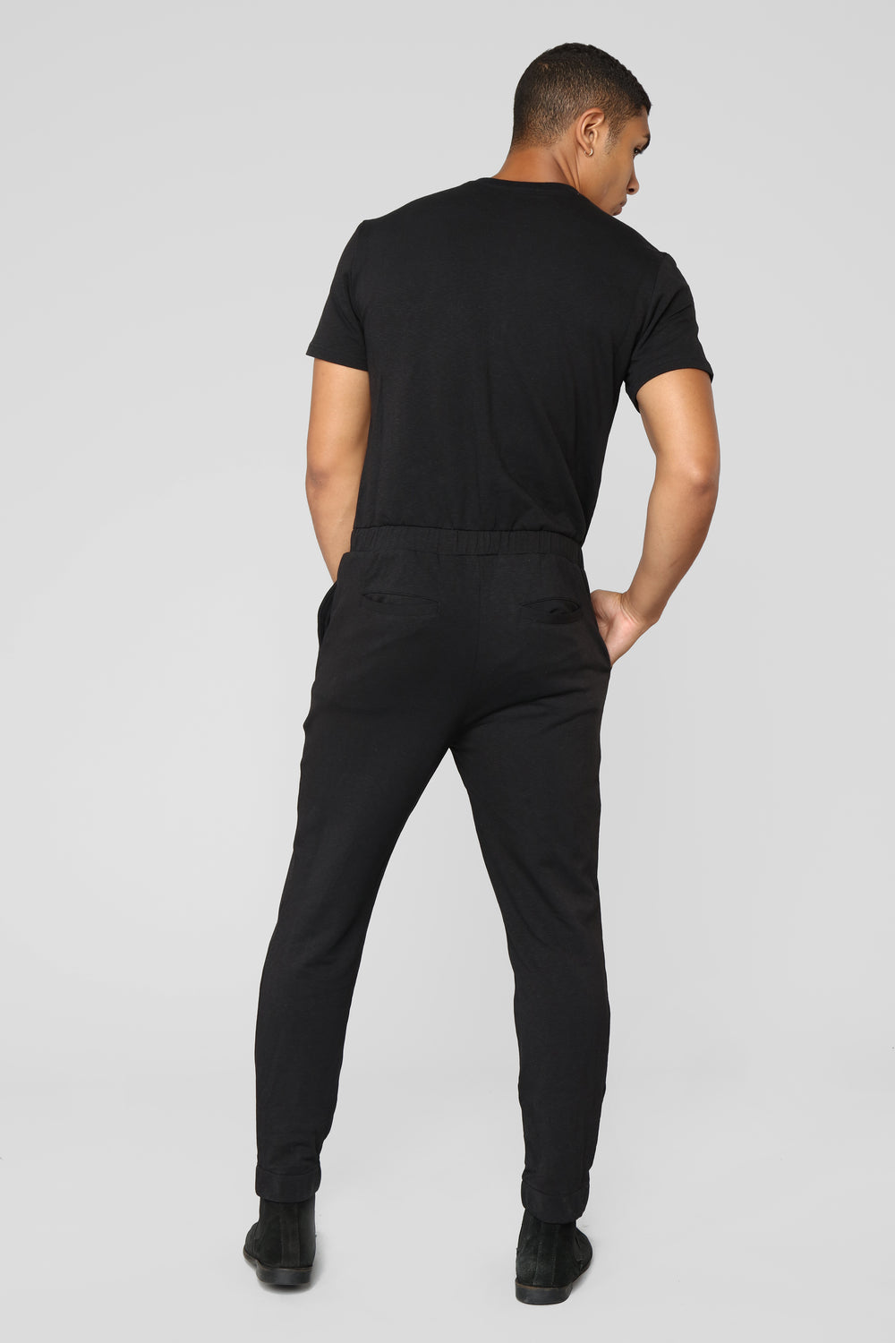 Springs Party Suit - Black