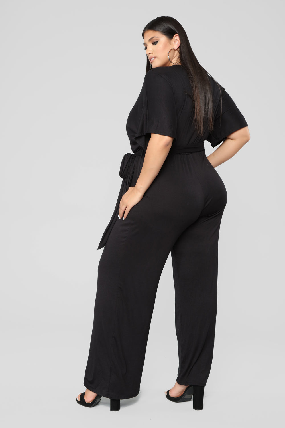 Knot Even Thinking About You Jumpsuit - Black