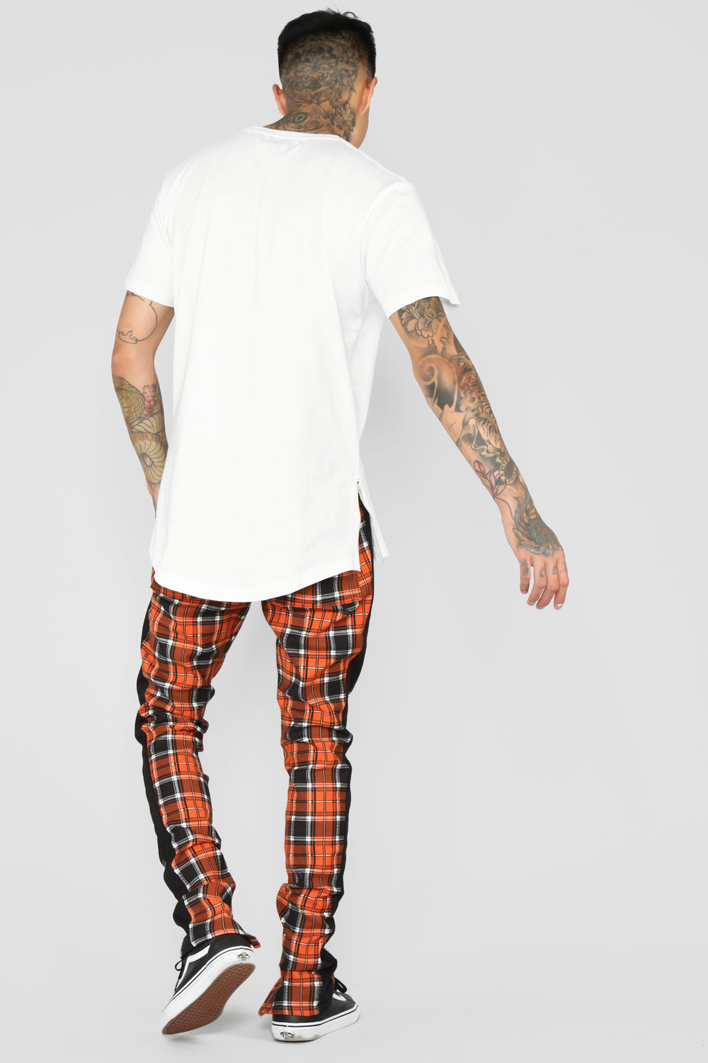 Wyatt Track Pants - Orange/Combo