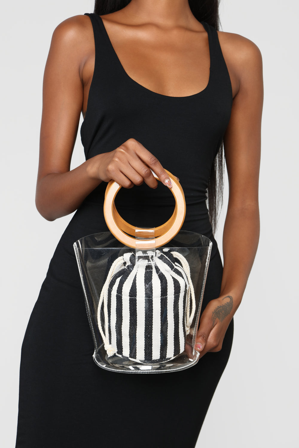 Clearly A Winner Bag - Black