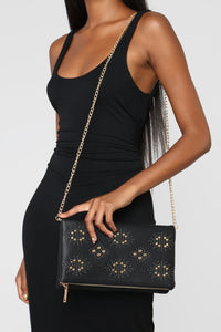 Where's My Stud Clutch - Black