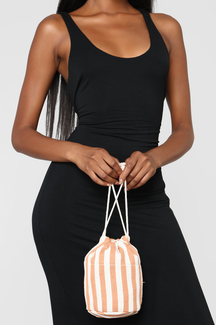 Clearly A Winner Bag - Coral
