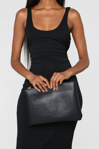 It's Just Casual Bag - Black