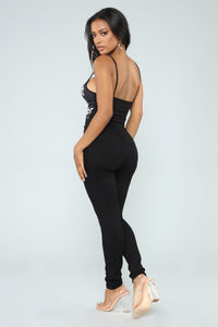 Anything But Ordinary Bodysuit - Black/combo